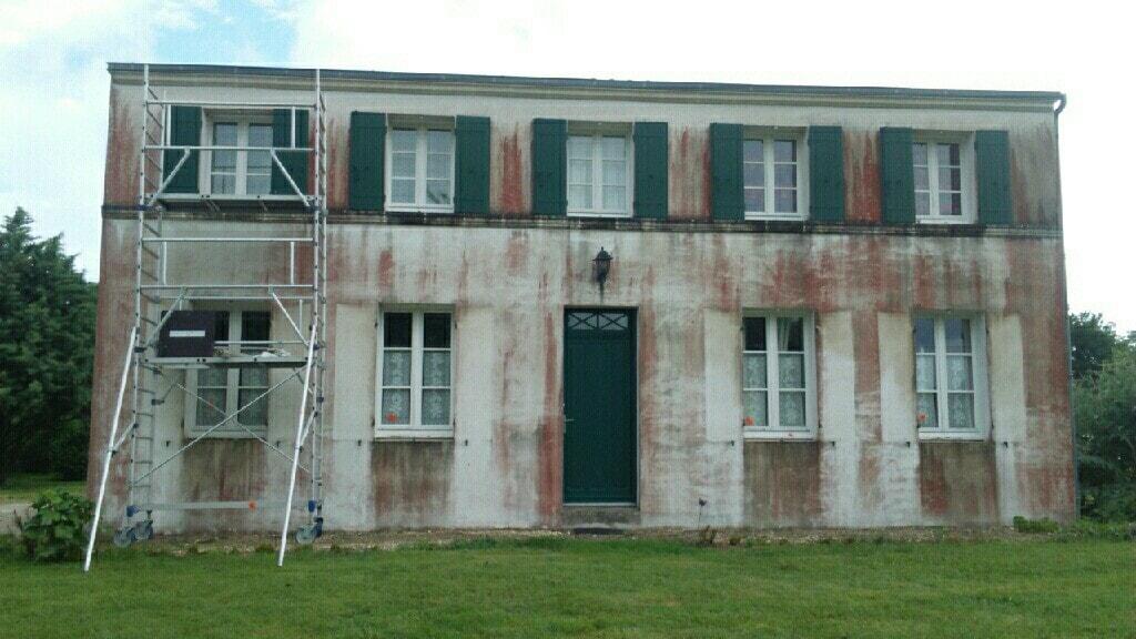Nos réalisations nettoyage façade 1